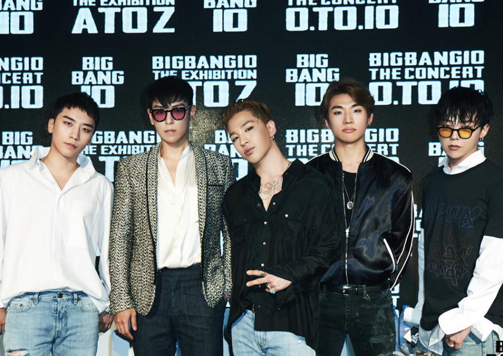 韩媒称Bigbang5人将合体复出,遭网友同声抵制